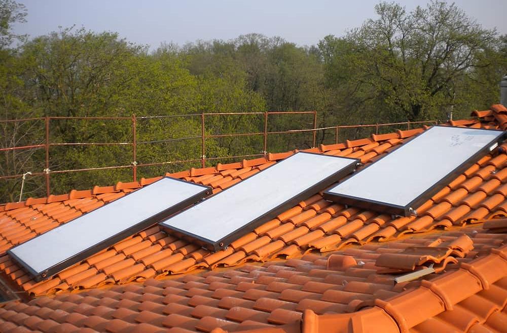 Pannelli solari termici ad uso domestico
